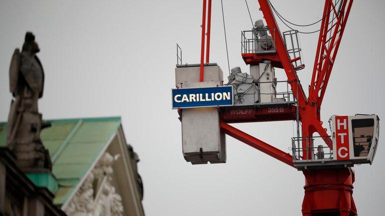 MPs target ex-Carillion CFO Richard Adam over £776,000 share
