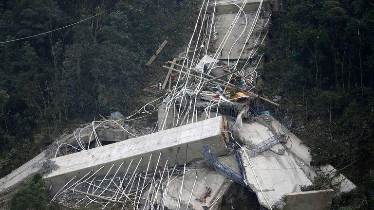 Colombia bridge collapse 4