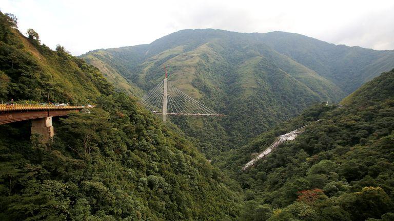 Colombia bridge collapse 5