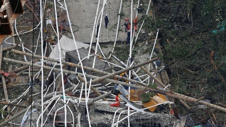 Colombia bridge collapse 7