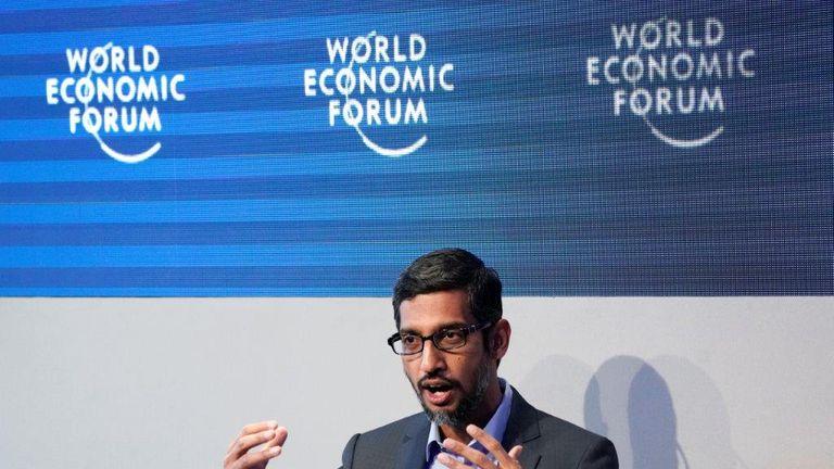 sundar picahi davos google econoic forum