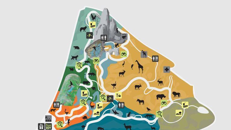 paris zoo map