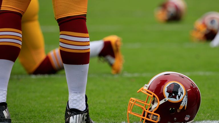 There have been calls for the Washington Redskins to change their logo too