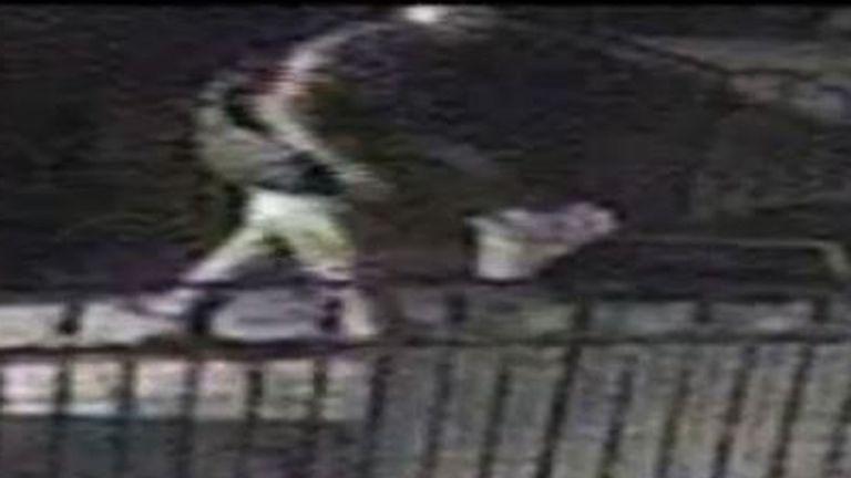 VIOLENT BURGLARIES BRUNT CCTV
