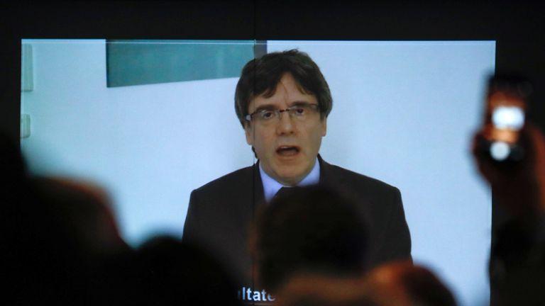 Puigdemont speech Jan 30