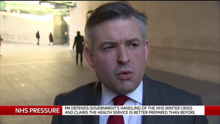 Ashworth: NHS crisis was preventable