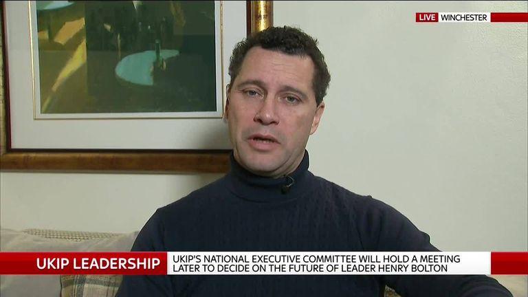 Former UKIP leadership candidate Steven Woolfe