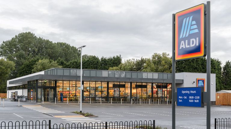Aldi wants 1,000 stores in the UK by 2022. Pic: Aldi