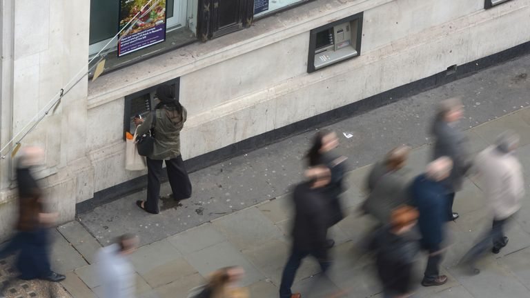 Online banking and contactless card payments are putting ATMs under threat