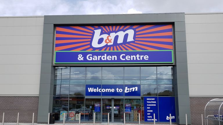 Undated photo of B&M store, downloaded from corporate website 12/1/2018