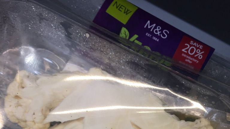 The 'cauliflower steak' will soon disappear from shops. Pic: @rachclarke27