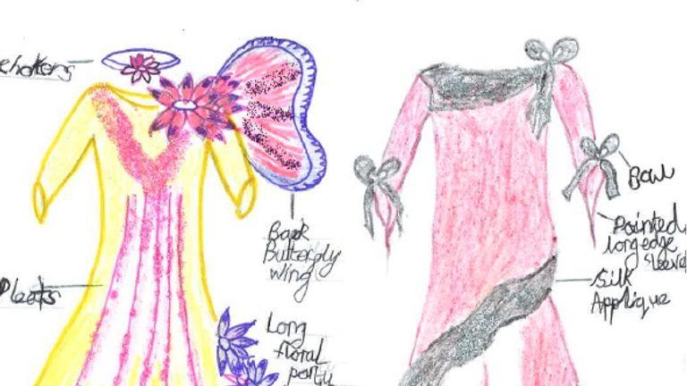 Fashion designer, Samia, 9