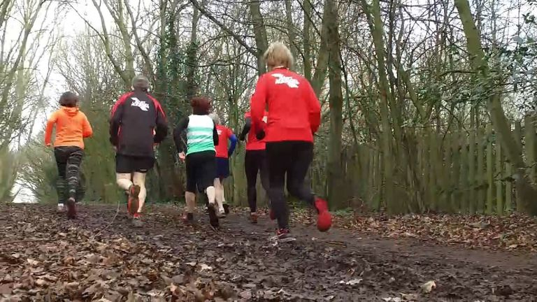 Men and women of all ages and abilities take part in cross country runs all over the country
