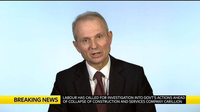 David Lidington is a Cabinet Office minister