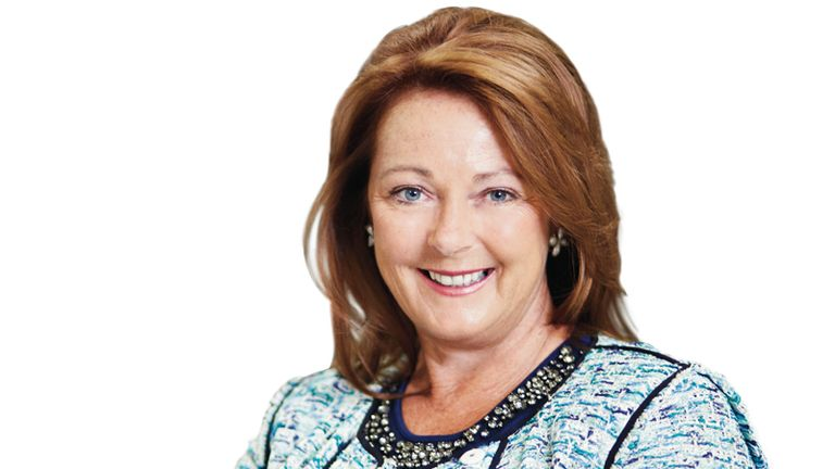 Debbie White took over as chief executive of Interserve in September 2017