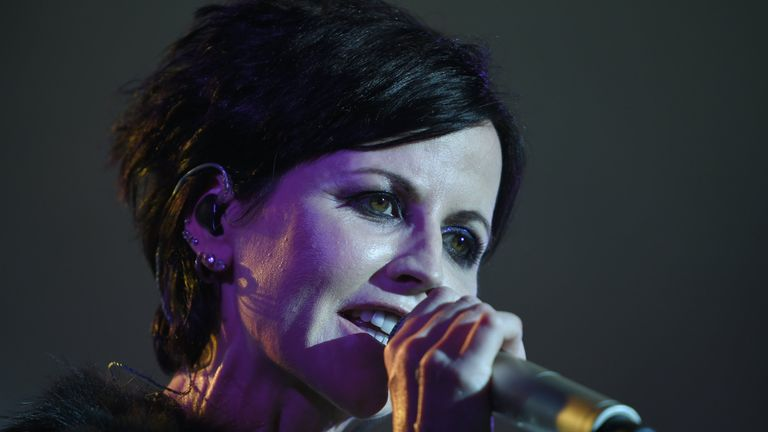 Cranberries lead singer Dolores O'Riordan dies aged 46