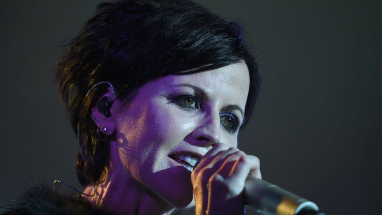 Dolores O'Riordan in 2016