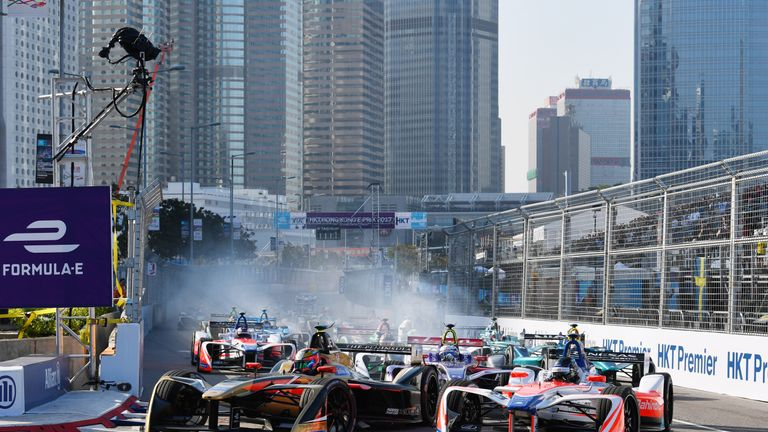 The Formula E series is currently in its fourth season