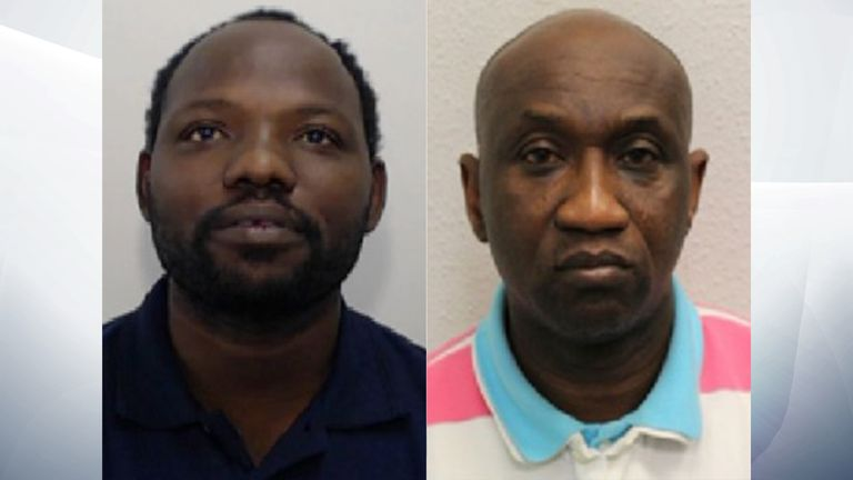 The gang was led by Steven Kanaventi and Alfred Adekoya
