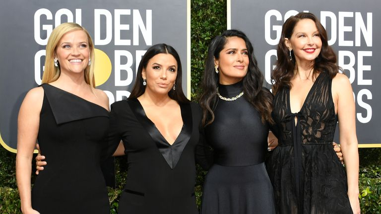 Reese Witherspoon, Eva Longoria, Salma Hayek and Ashley Judd