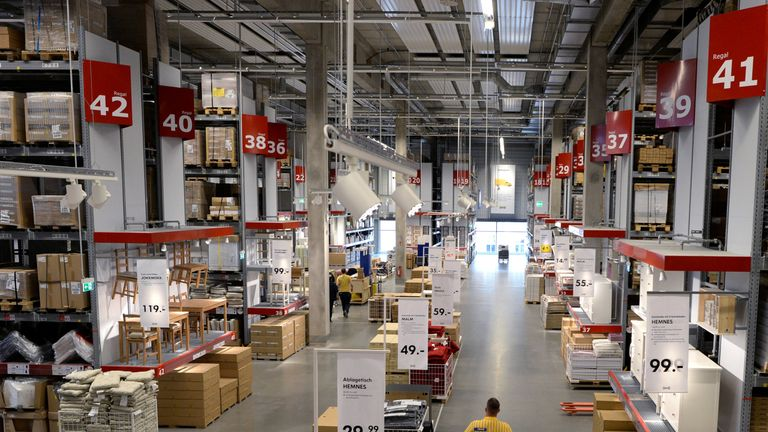 Ikea India launches with Hyderabad megastore | Business News | Sky News