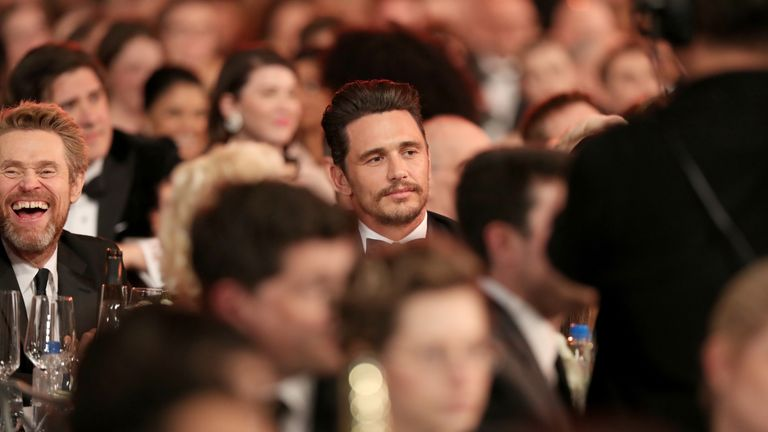 LOS ANGELES, CA - JANUARY 21: Actor James Franco attends the 24th Annual Screen Actors Guild Awards at The Shrine Auditorium on January 21, 2018 in Los Angeles, California. 27522_010 (Photo by Christopher Polk/Getty Images for Turner Image)