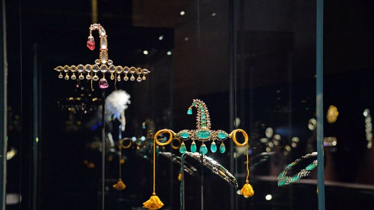 Police say the jewellery stolen is worth 'a few million euros'. Pic: REX/Shutterstock