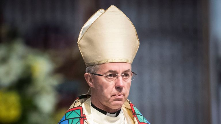 "File photo dated 09/07/17 of the Archbishop of Canterbury Justin Welby, who has used his new year message to praise the ""depth of compassion"" shown by communities responding to terrorism and tragedy. PRESS ASSOCIATION Photo. Issue date: Sunday December 31, 2017. The Anglican leader said that the 2017 terrorist atrocities in London and Manchester and the Grenfell Tower disaster had been met with heroism from the emergency services. See PA story RELIGION NewYear. Photo credit should read: Danny Lawson/PA Wire"