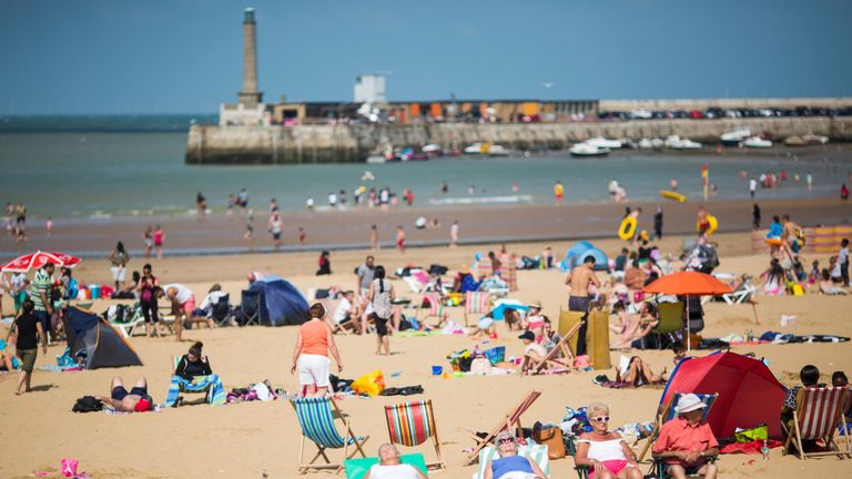 Margate is known for its sandy beaches