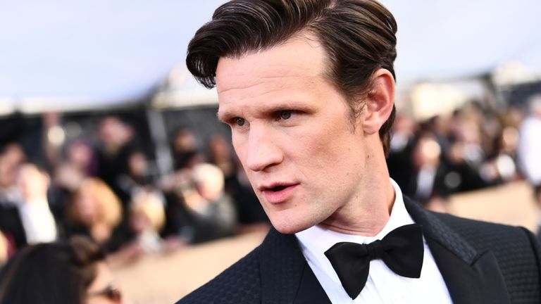LOS ANGELES, CA - JANUARY 21: Actor Matt Smith attends the 24th Annual Screen Actors Guild Awards at The Shrine Auditorium on January 21, 2018 in Los Angeles, California. 27522_011 (Photo by Emma McIntyre/Getty Images for Turner Image)