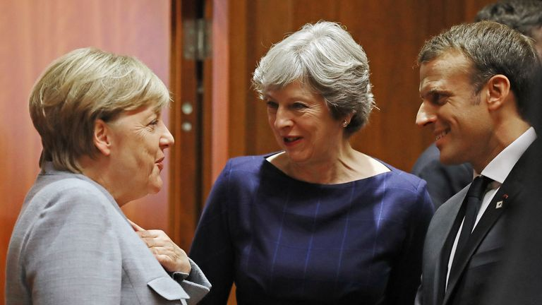 With May distracted by Brexit, this could be Macron's opportunity to be a central leader in Europe