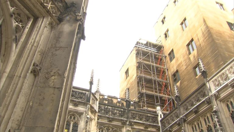 MPs voted to decant while the repair work takes place
