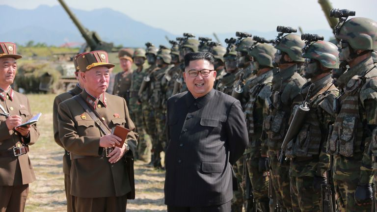 Kim Jong Un is in dialogue with South Korea, but the US is concerned it is a trick