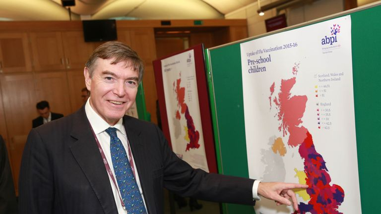 Philip Dunne said there are seats available in hospitals when beds are not