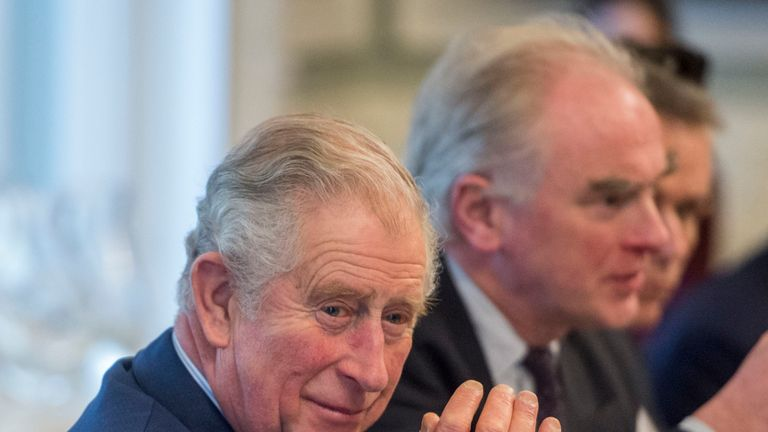 Charles said he was encouraged that the plastics issue was beginning to get to the top of the agenda