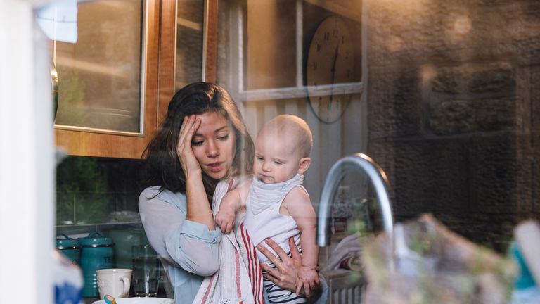 Experts warn post-natal depression is 'debilitating for mothers and their families'. File pic
