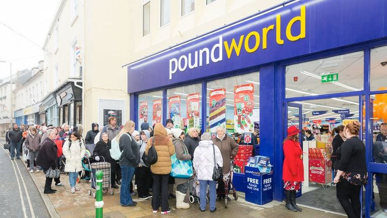 Poundworld was bought by TPG in 2015. Pic: Poundworld