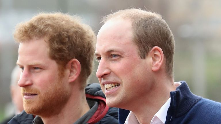 Prince Harry hasn't revealed whether his brother will be best man at his wedding