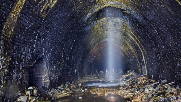 Campaigners in Yorkshire want to turn an old rail tunnel into Britain's longest cycle tunnel