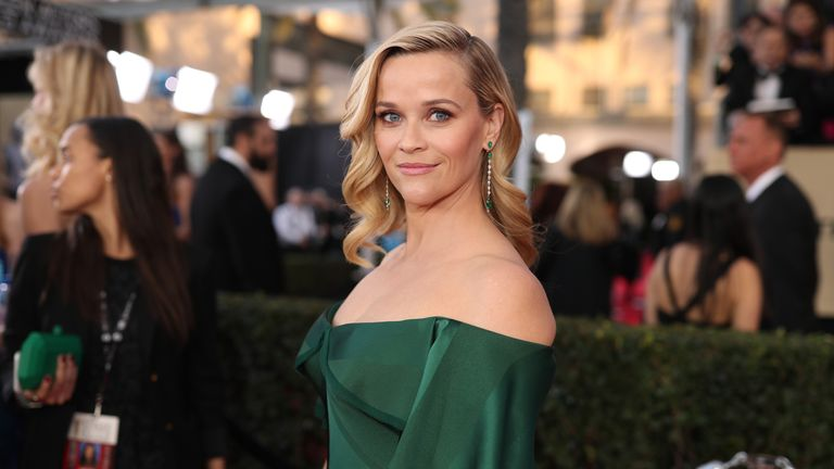 Actor Reese Witherspoon joked that she had a secret third leg