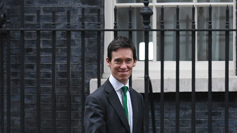 Rory Stewart, who has moved from the role as Africa minister to the Ministry of Justice