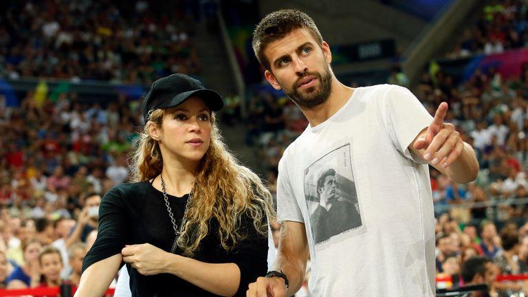 Shakira lives in Barcelona with partner Gerard Pique