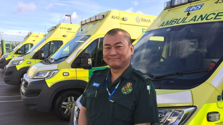 Simon Wong is a clinical team mentor at the West Midlands NHS