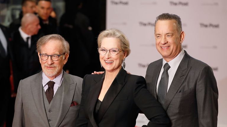 Steven Spielberg has united Tom Hanks and Meryl Streep for starring roles in his new film, The Post