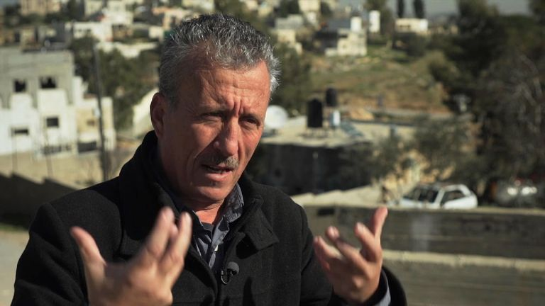 Mr Tamimi freely admits he uses the camera - but it's not about creating 'fake news', or propaganda as Israel claims