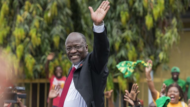 President John Magafuli last year said schoolgirls who get pregnant 'are done'