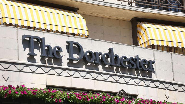 The Dorchester Hotel in London