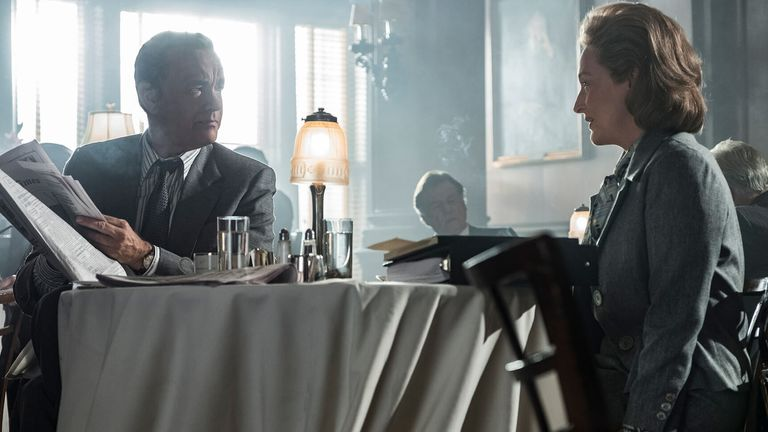 Tom Hanks and Meryl Streep star in The Post