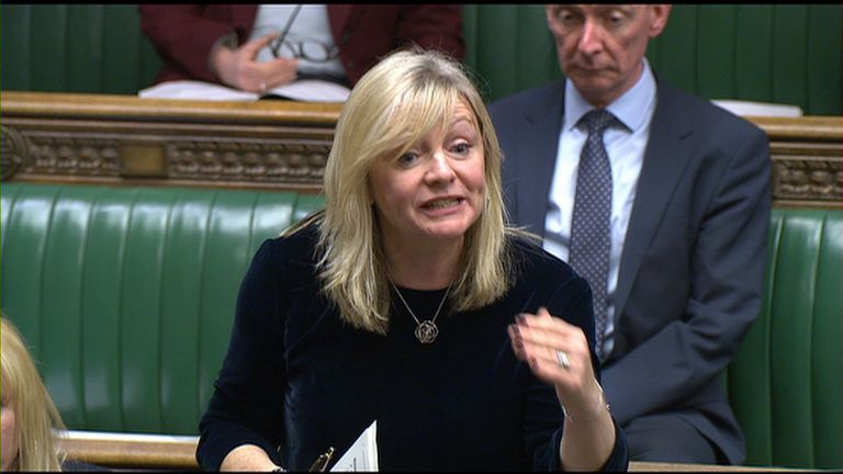 Tracy Brabin speaking in the Commons