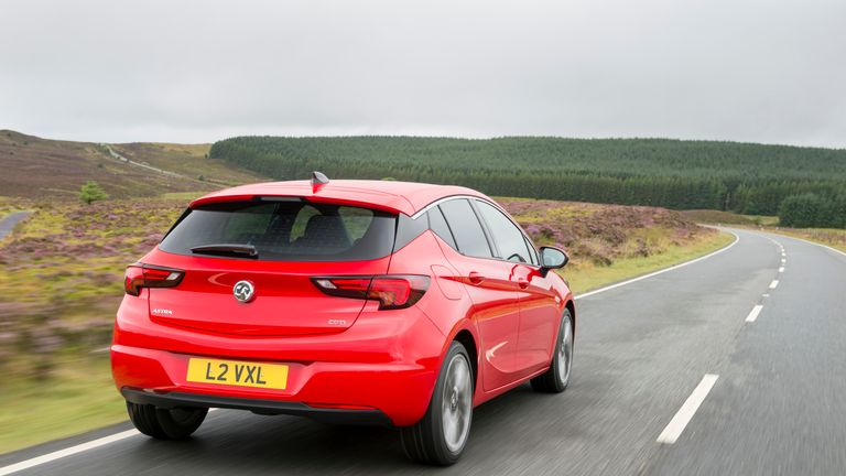 All Astra models have been made at Ellesmere Port since 1979. Pic: Vauxhall